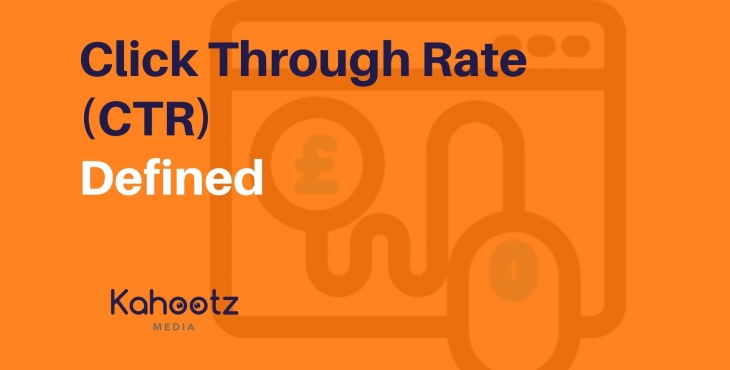 Click Through Rates CTR