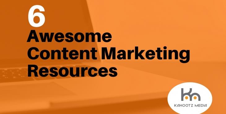 6 content marketing resources