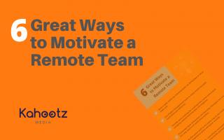 Motivate Remote Team