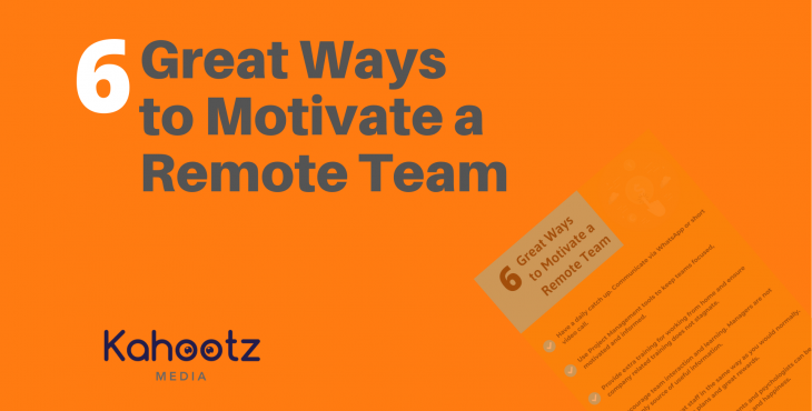 Motivate Remote Team