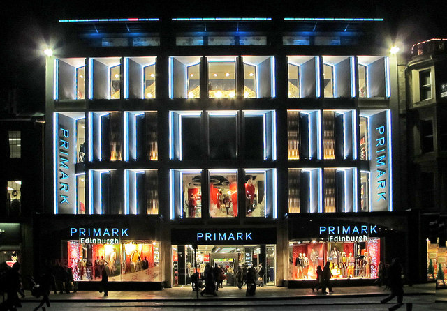 Primark Edinburgh