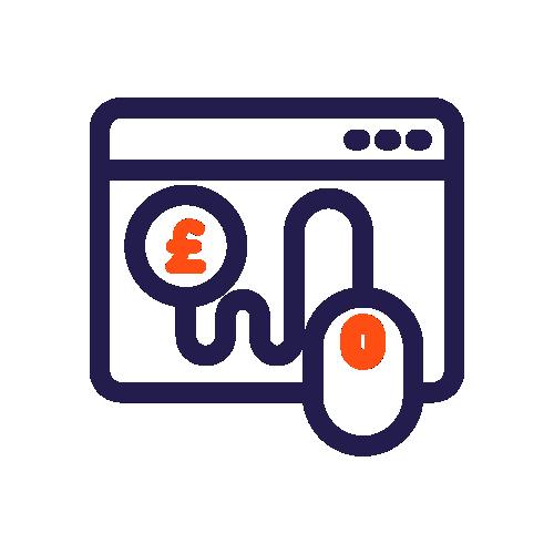 PPC Pay Per Click Icon