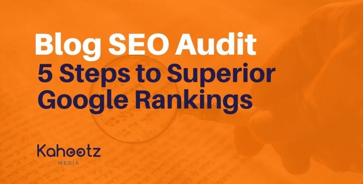 Blog SEO audit