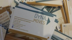Removals Business Cards