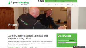 Website Design for Window Cleaners